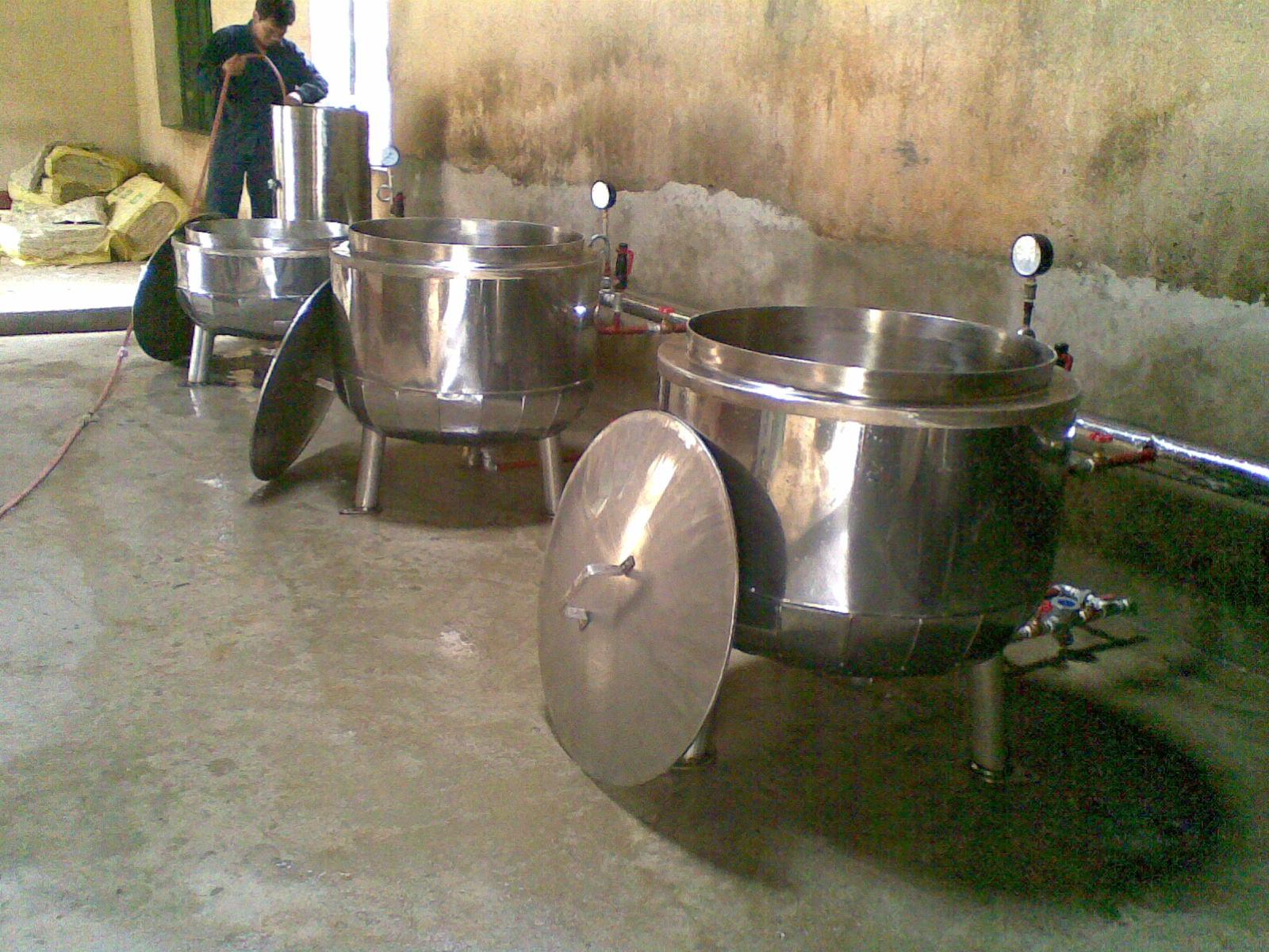 Nồi cơm công nghiệp - Tủ nấu cơm